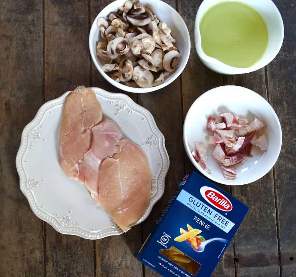 gluten free chicken barilla