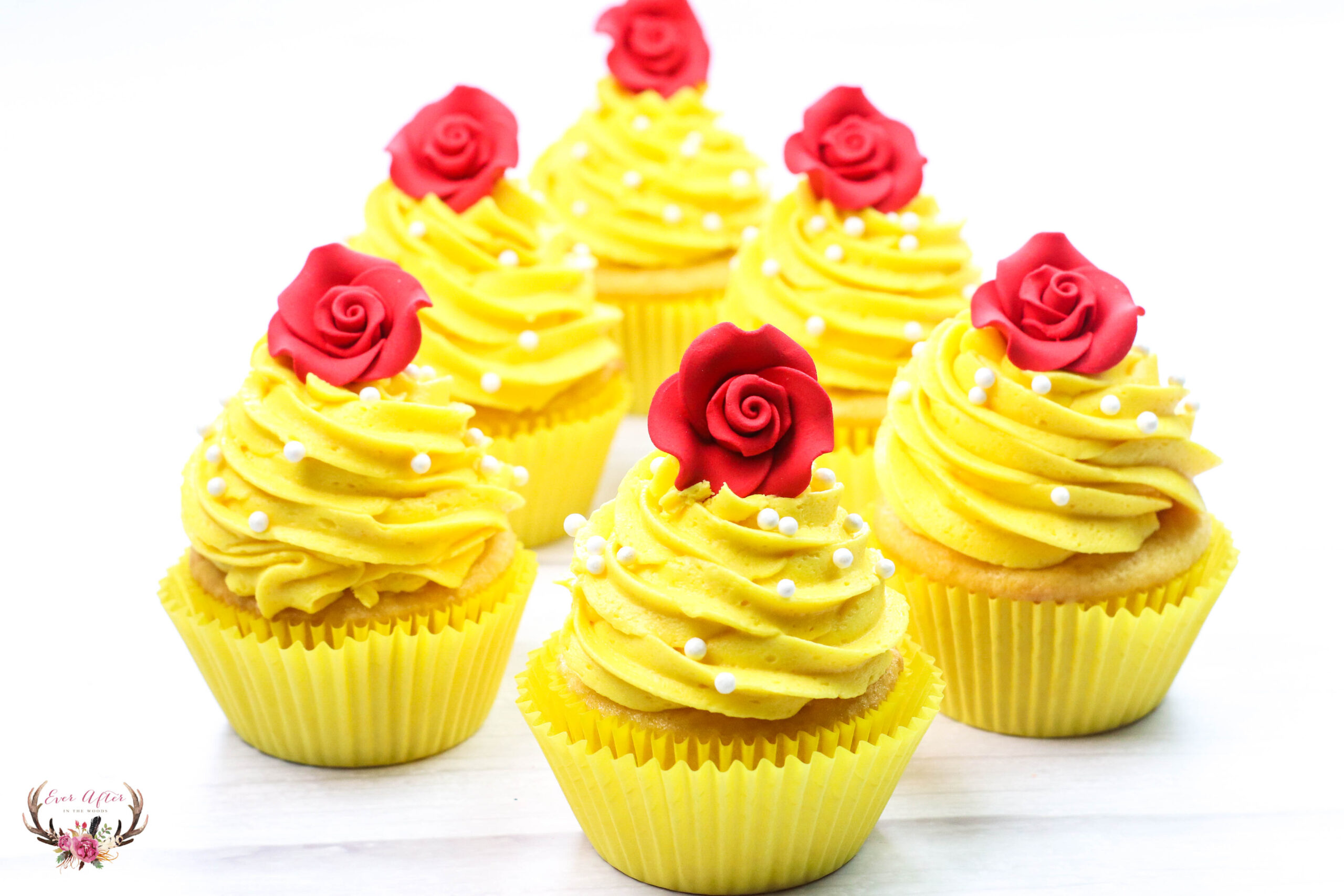 Beauty and the Beast Cupcakes