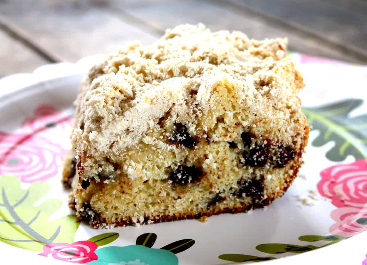 chocolate chip coffee cake recipe