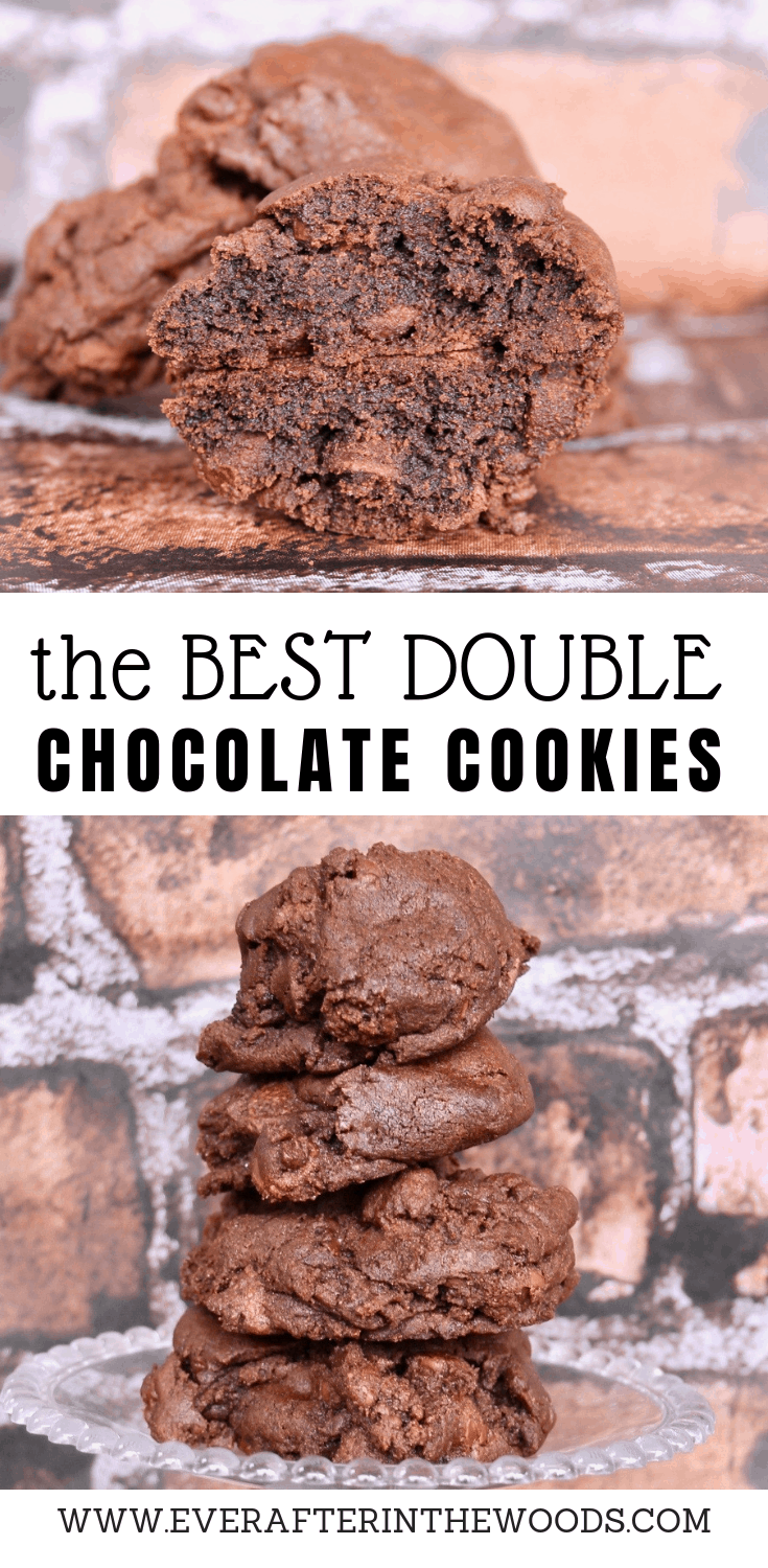 the ultimate double chocolate chip cookie recipe