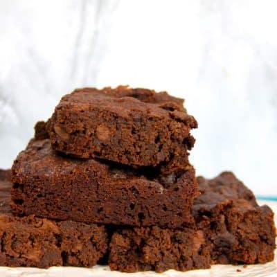 best Chocolate Fudge Brownie recipe from scratch