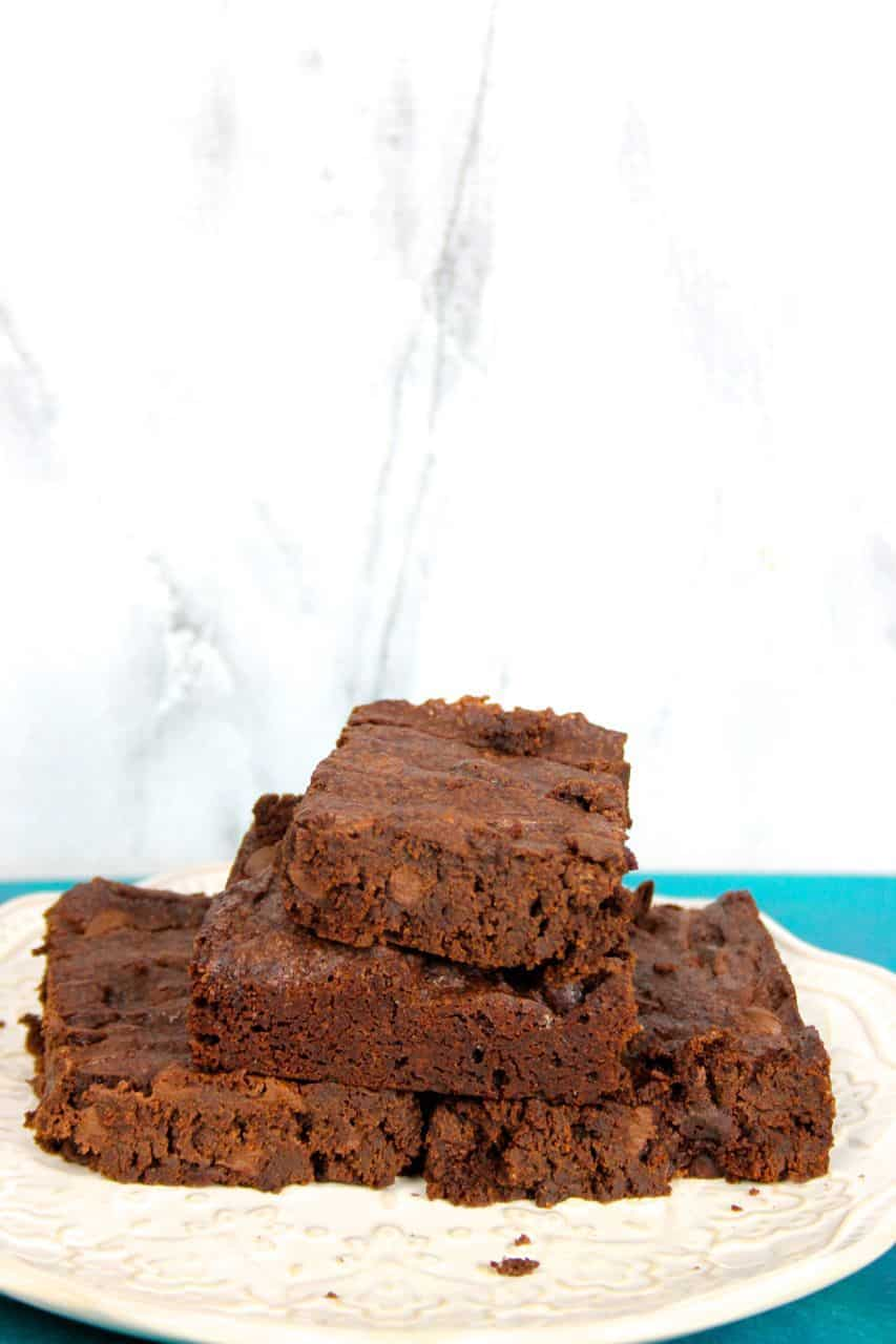 The best Chocolate Fudge Brownie recipe from scratch