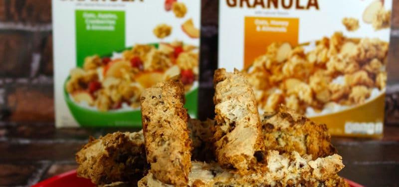 Easy Biscotti with Quaker® Simply Granola