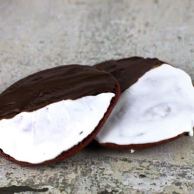 how to make a bakery style black and white cookie recipe