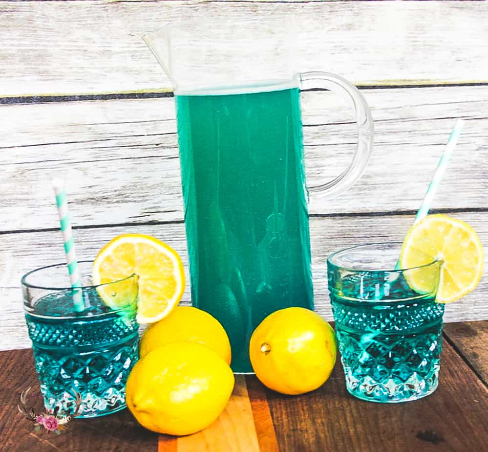 blue drinks for party
