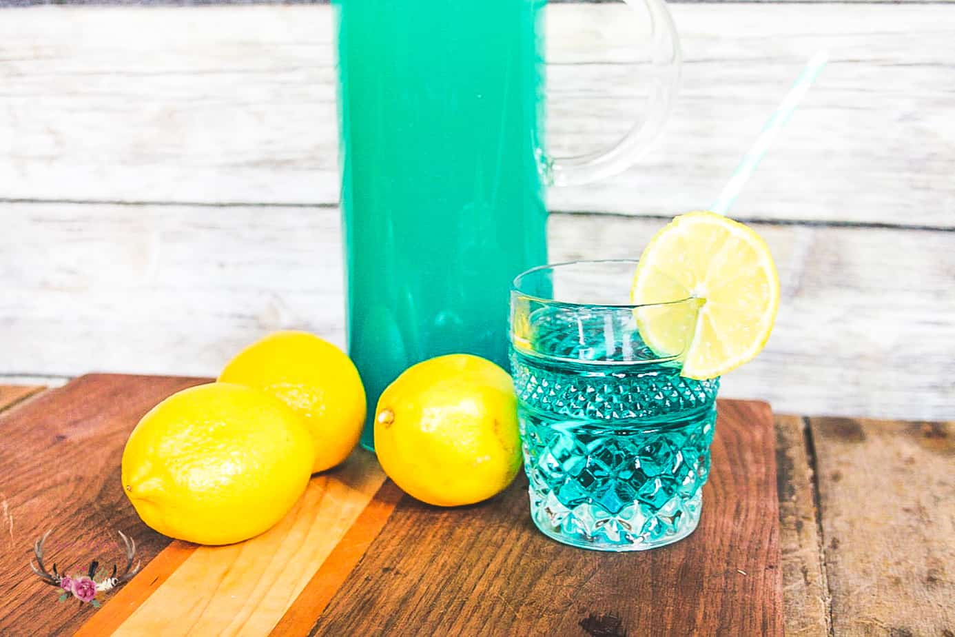 blue drink for party