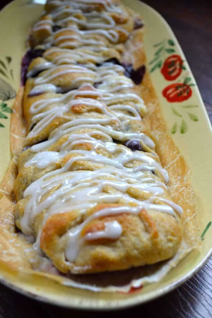 berry breakfast danish coffee tea party treat