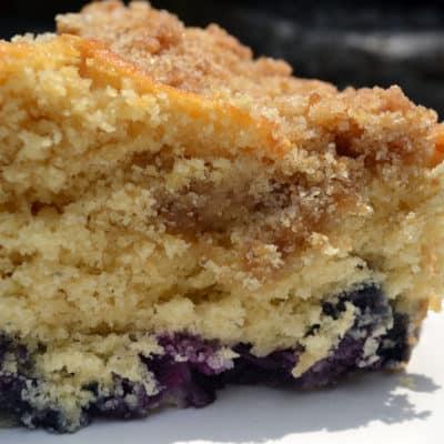 Blueberry Crumb Cake Recipe