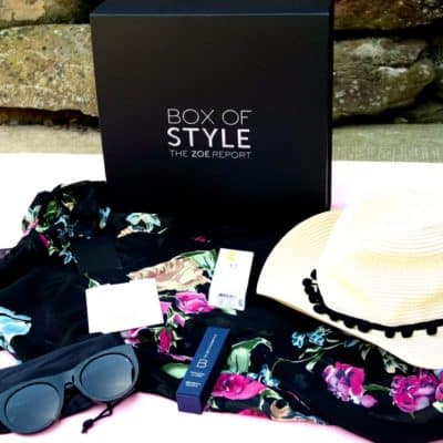 what is inisde the zoe report summer box