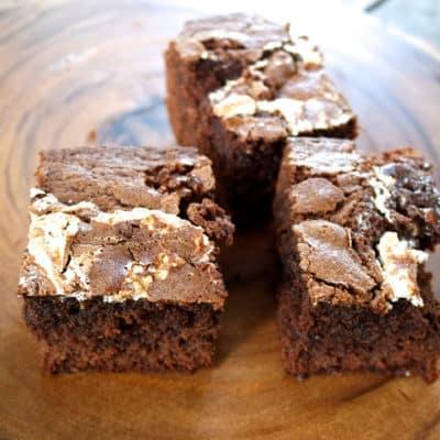 marshmallow fluff fudge chewy brownie recipe