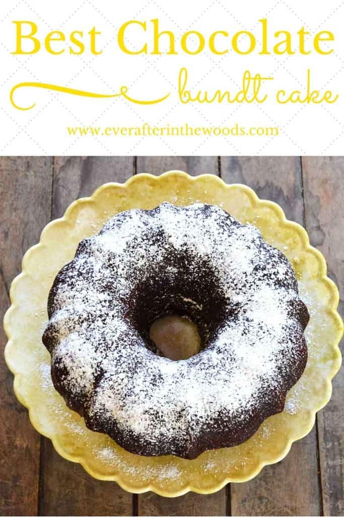 chocolate bundt cake recipe delicious