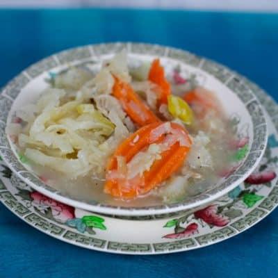 Reuben Cabbage Soup