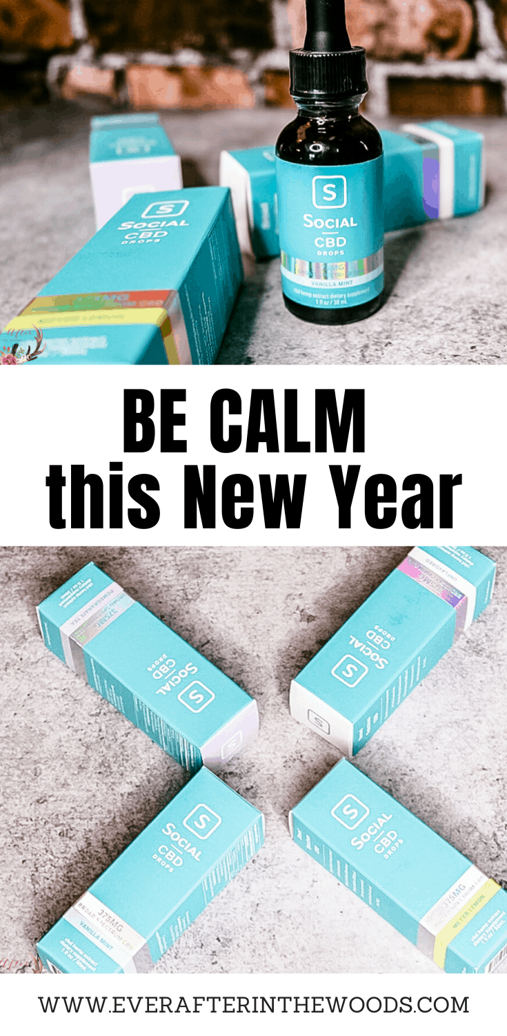 Remain Calm this New Year with Social CBD Broad Spectrum Drops