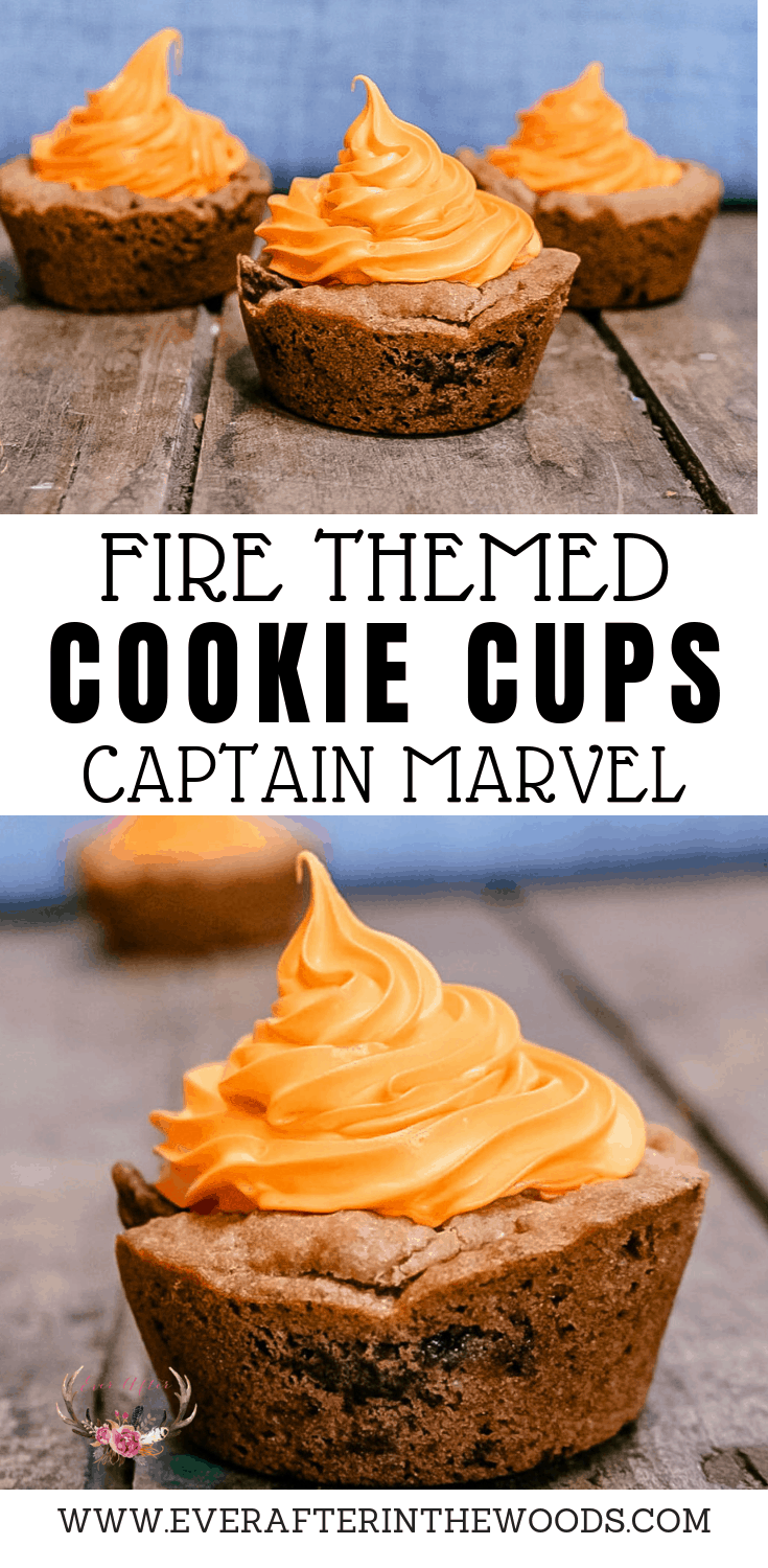 captain marvel dessert | cookies captain marvel