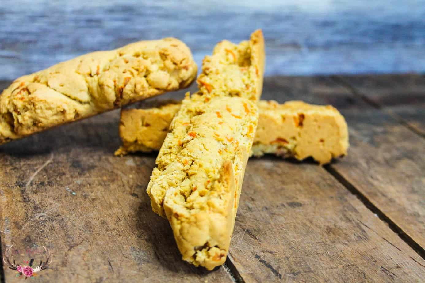 How to Make Carrot Cake Biscotti