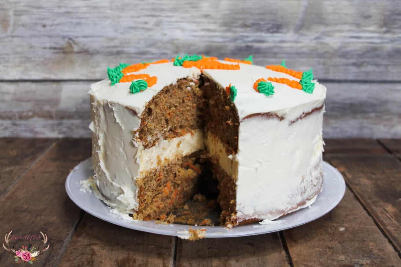 How to make Carrot Cake Cheesecake Cake