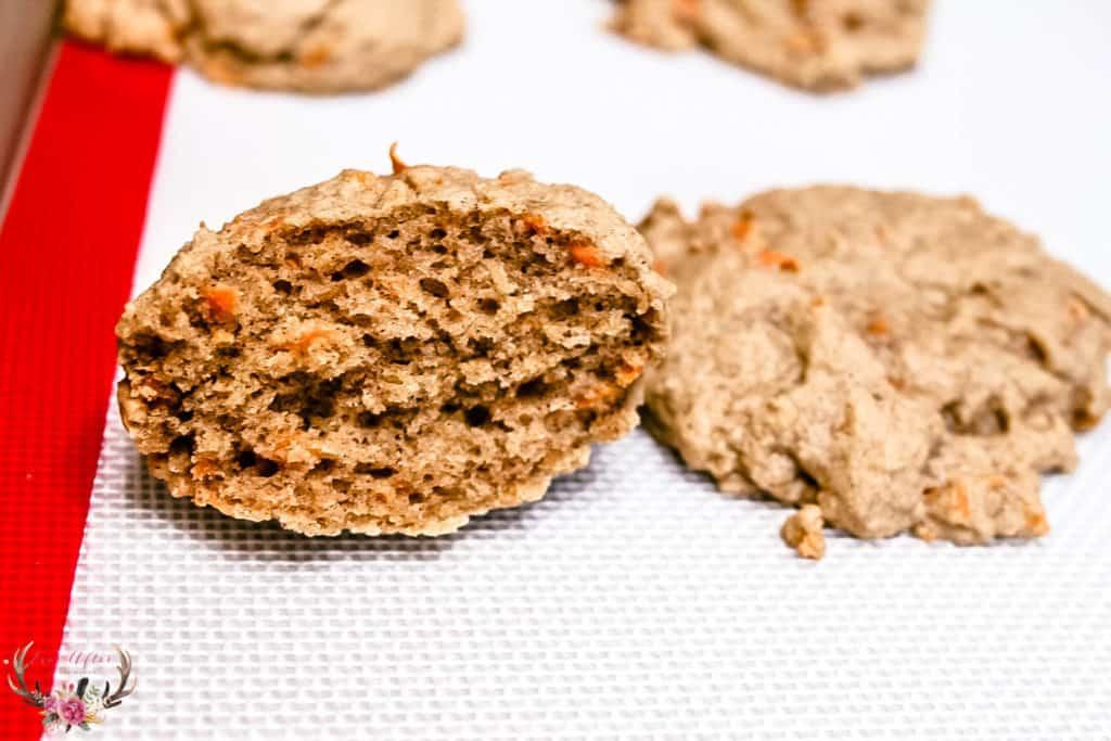 moist carrot cake cookies