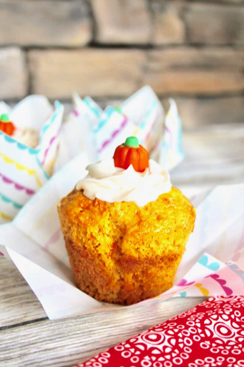 easy to make carrot cupcakes