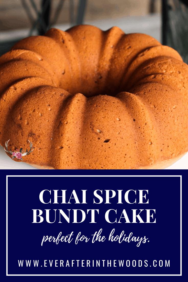 Chai Spice Bundt Cake Recipe