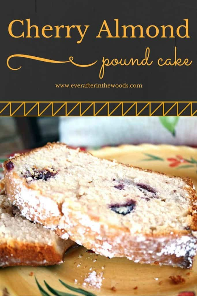 moist easy recipe for cherry almond cheese cake bread loaf cake