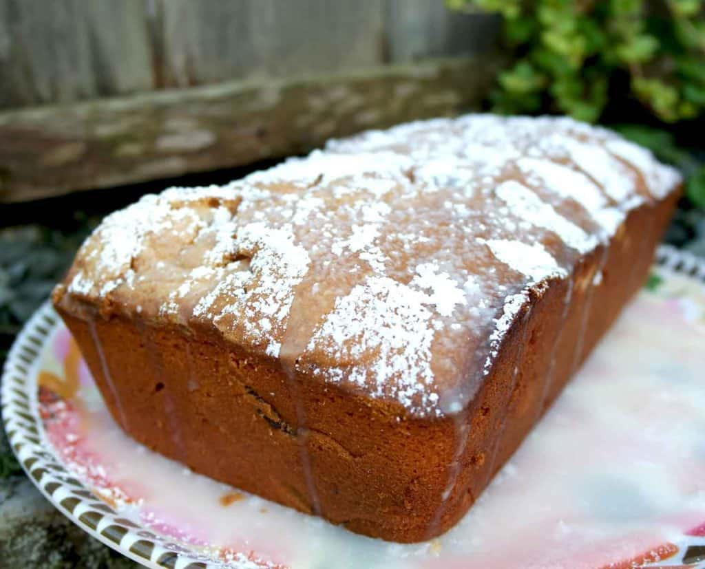moist grandma recipe almond cherry bread cake