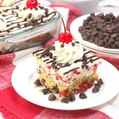 Easy Cherry Garcia Cake Recipe