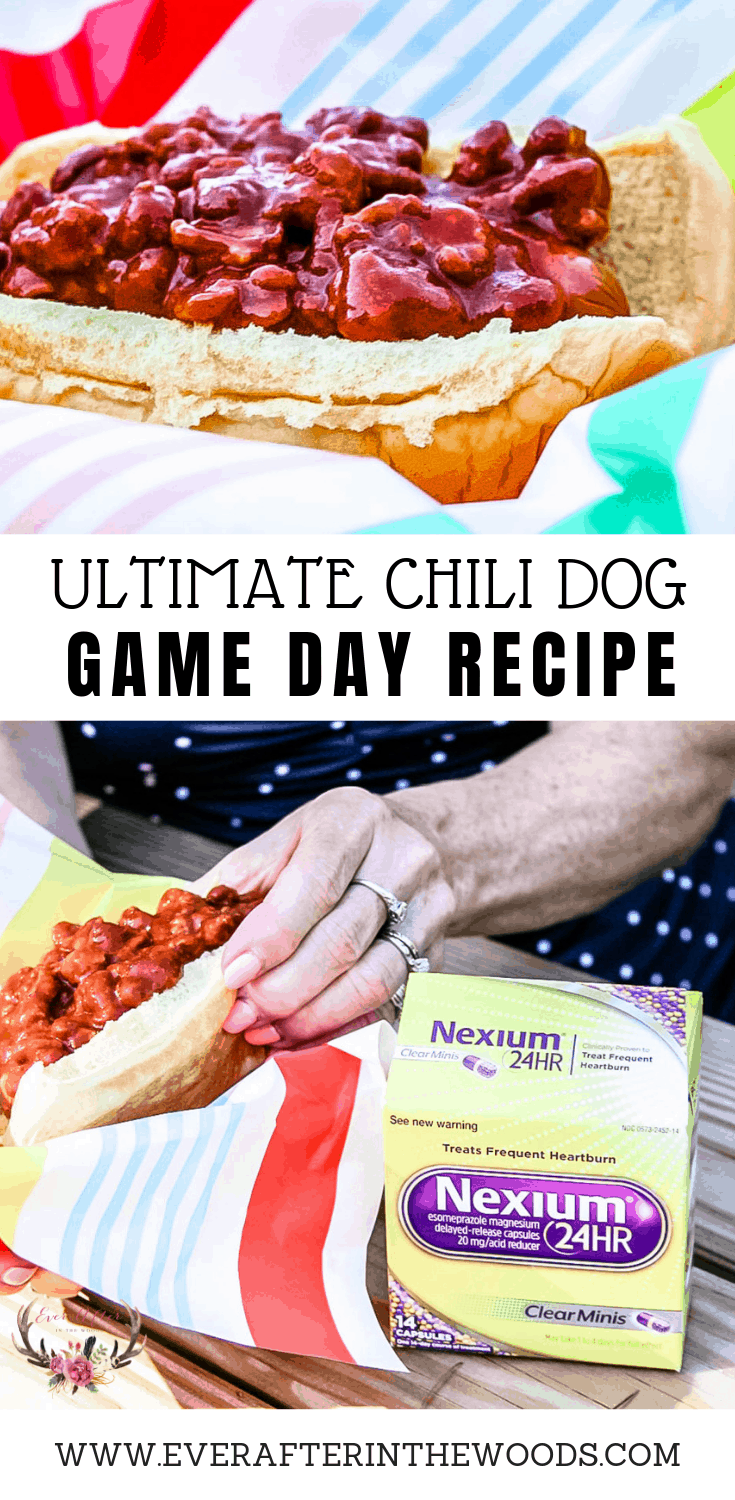 ultimate chili dog game day recipe
