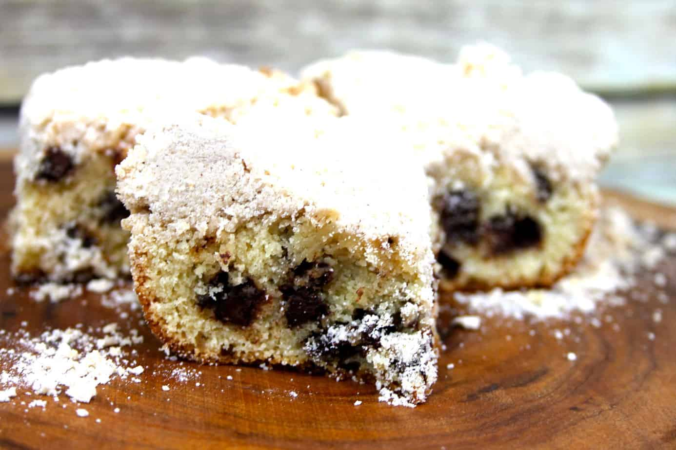 ultimate chocolate chip crumb cake recipe