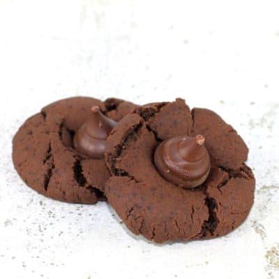 Cinnamon Chocolate Kiss Cookies