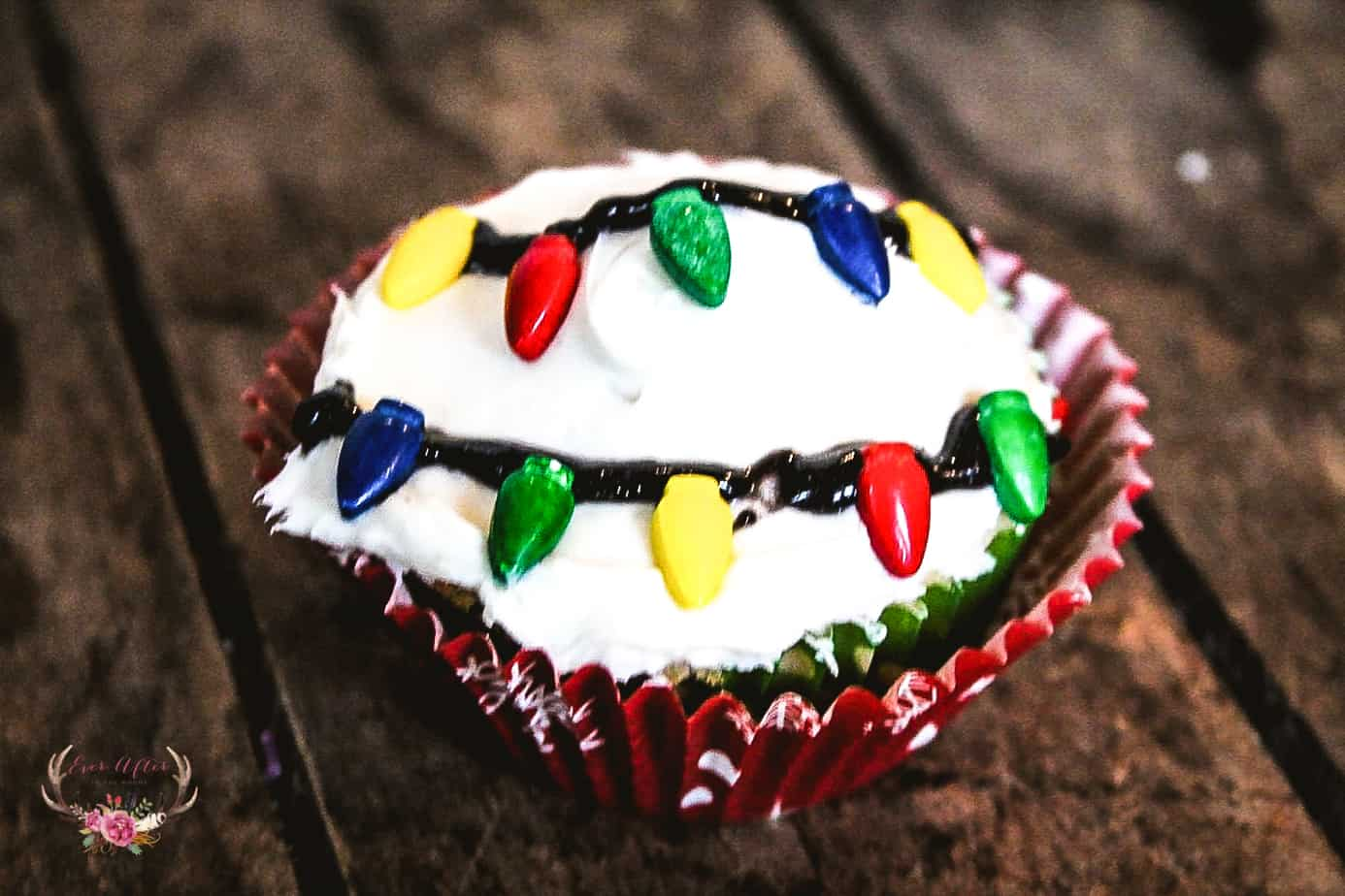 christmas lights cupcakes stranger things cupcakes