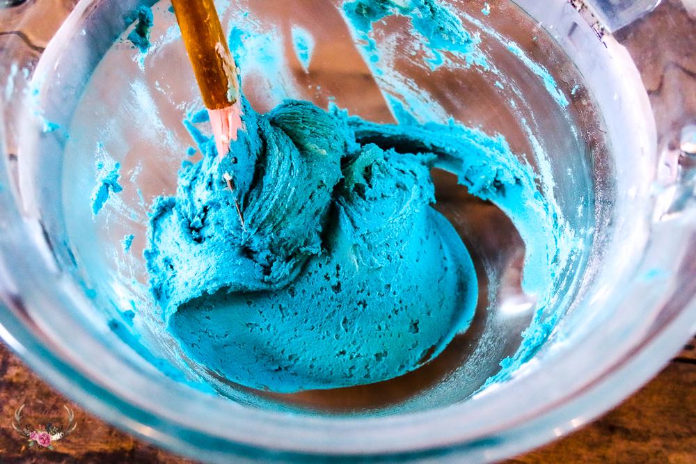 cookie monster blue cookies