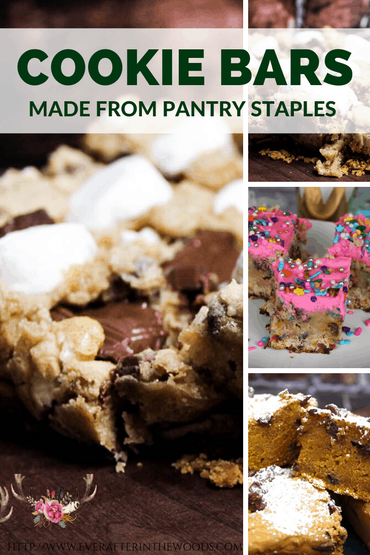 ultimate cookie bar list from pantry staples