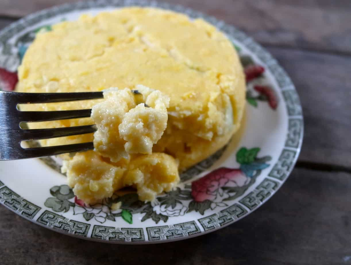 corn pudding bread dessert