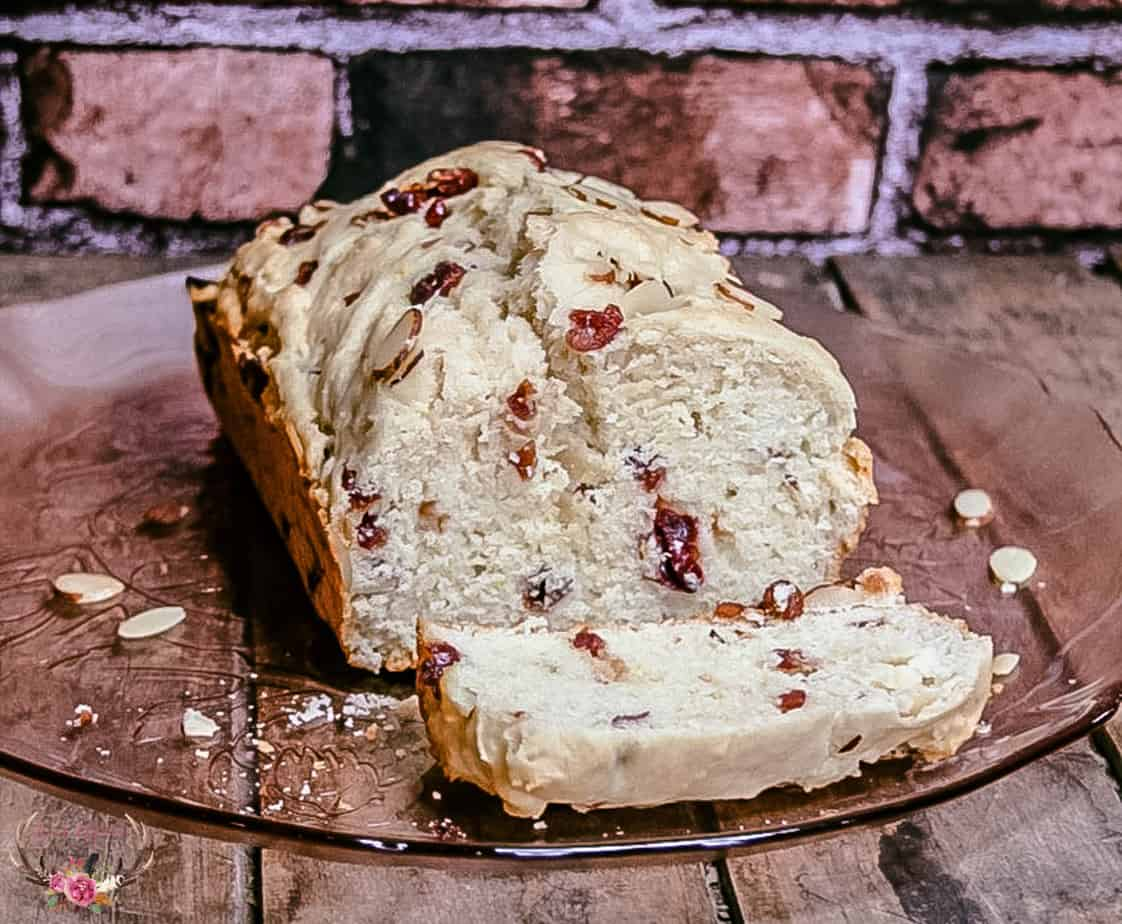 how to make cranberry almond bread