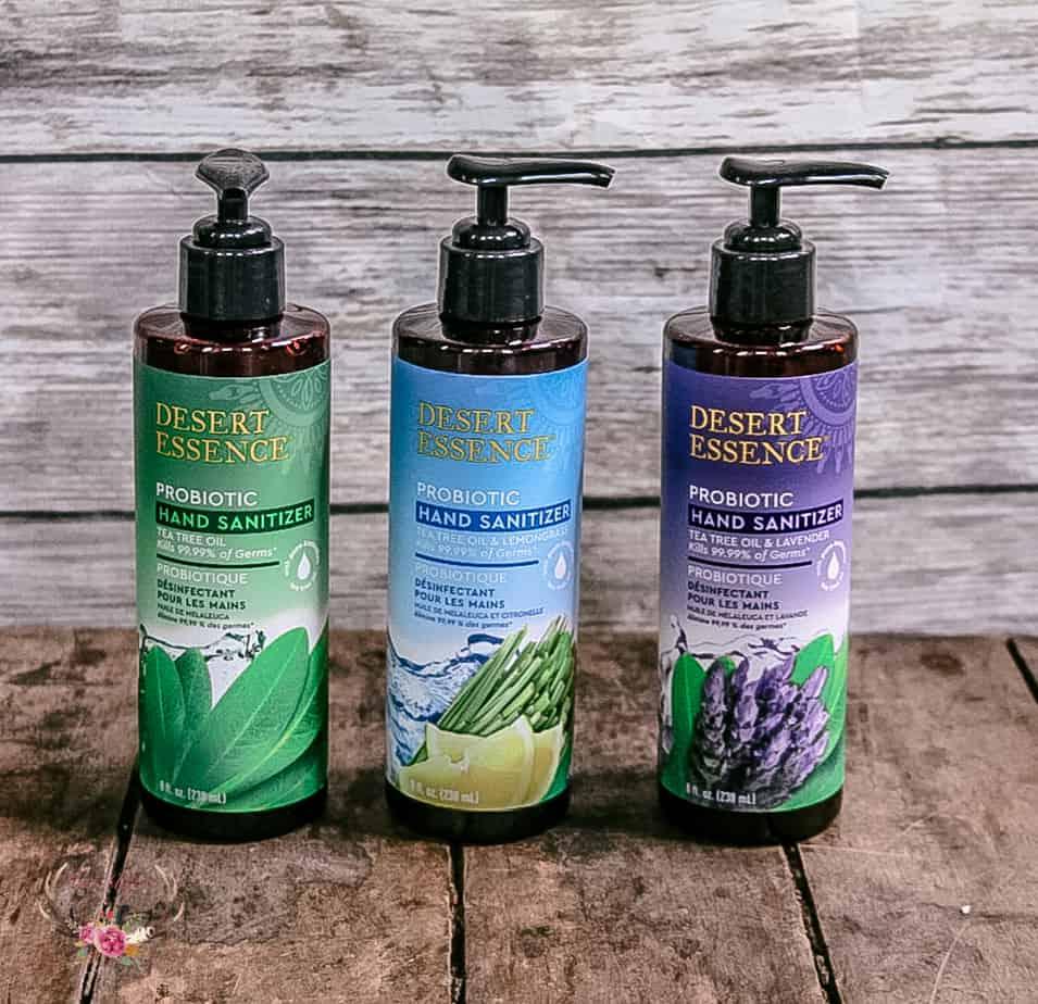 desert essence hand sanitizer