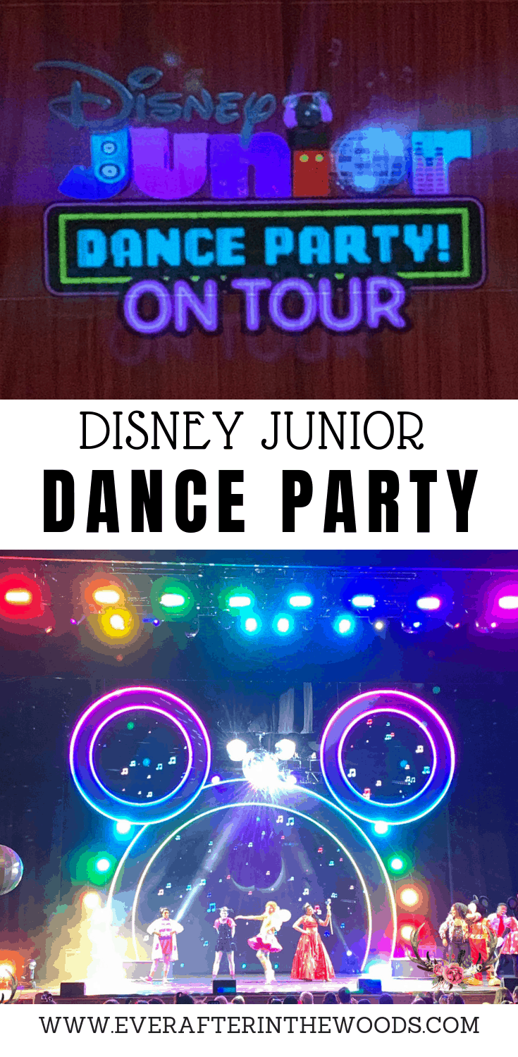 disney junior dance party on tour review