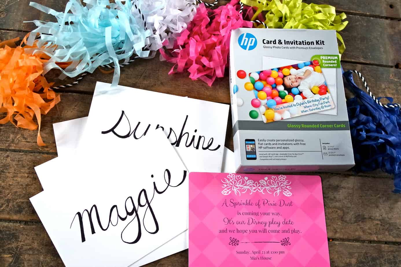 hp invitations #disneykids