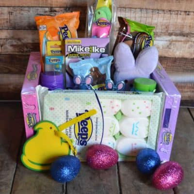 Cute and Easy to make PEEPS Easter Basket
