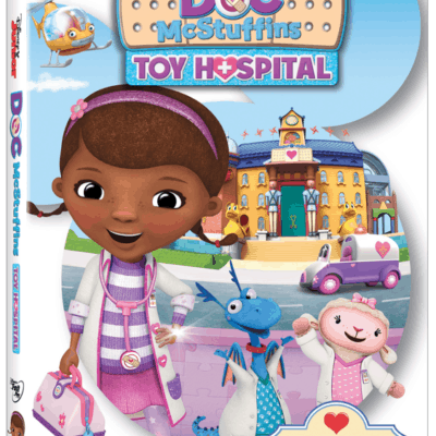 DOC MCSTUFFINS: TOY HOSPITAL on DVD October 18th