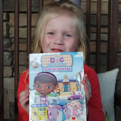 DOC MCSTUFFINS TOY HOSPITAL is on DVD NOW