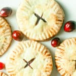 easy to make cranberry hand pies | homemade pop tarts | cranberry pop tarts