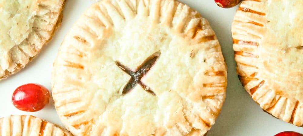 homemade cranberry pop tart | cranberry hand pie | breakfast treat