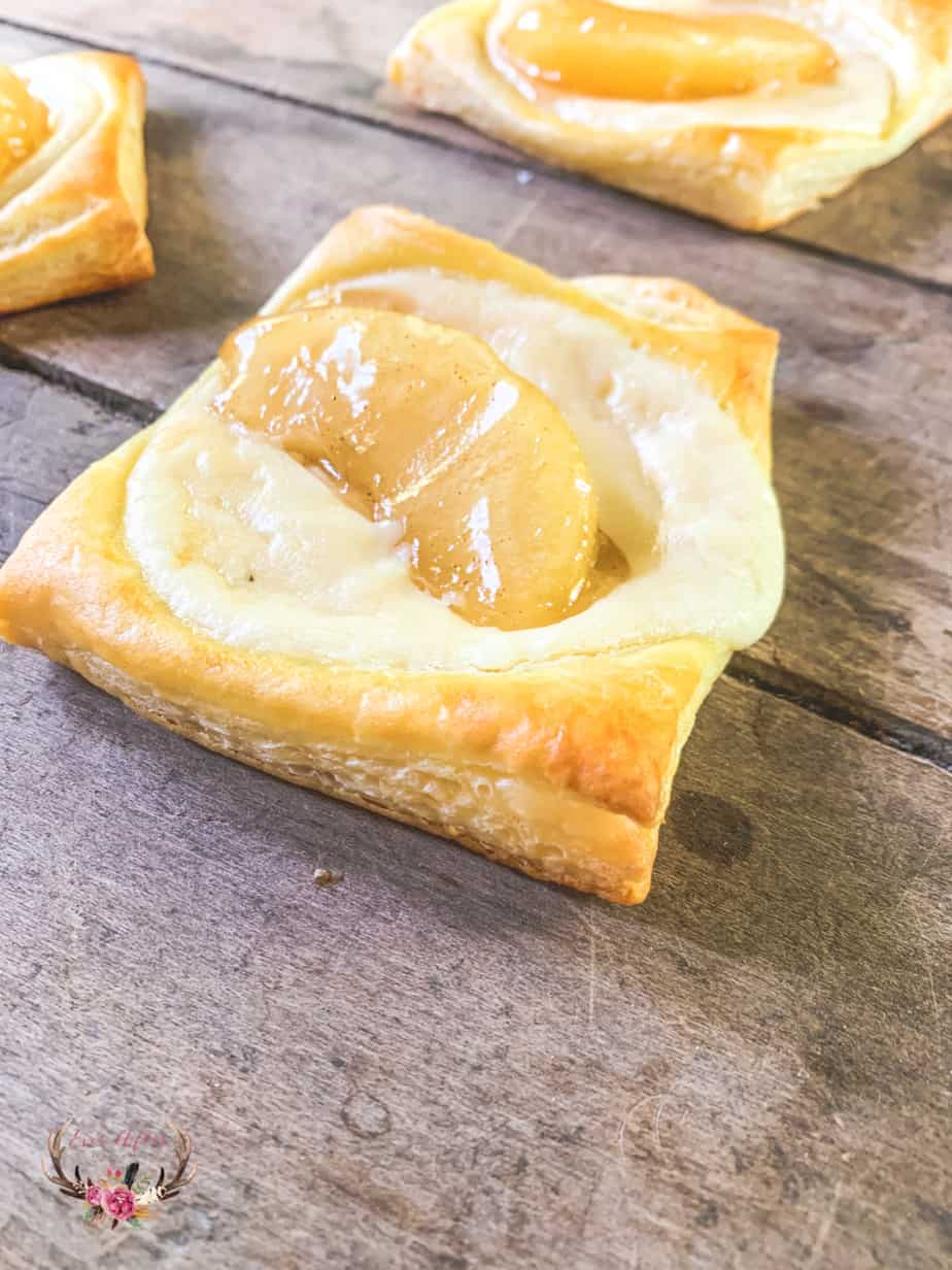 easy cheese danish recipe with puff pastry