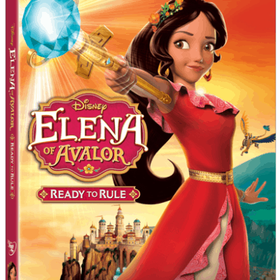 Elena of Avalor: Ready to Rule coming just in time for the HOlidays!