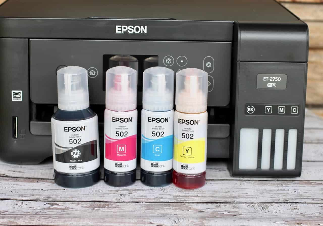 Epson EcoTank Printers come with up to 2 years worth of ink