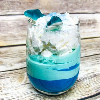 Start Shark Week off right – with these Shark Week Pudding Cups.