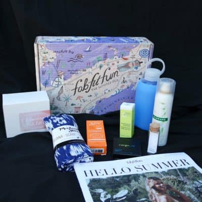 What's Inside the fabfitfun Summer 2017 Box