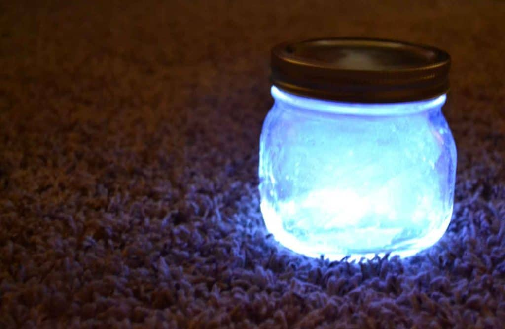 fairy fairie glo sparkler jar