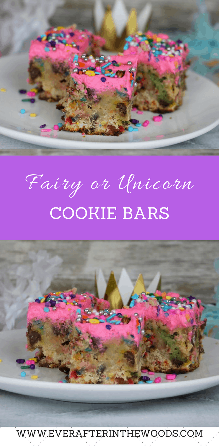 fairy unicorn sprinkles princess birthday party dessert