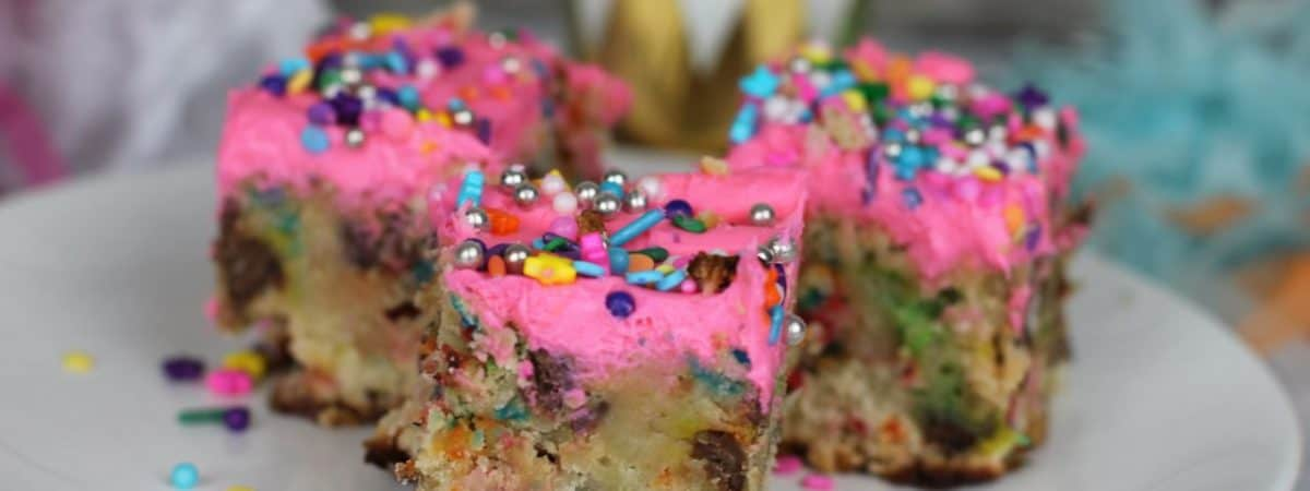 fairy unicorn birthday party desserts